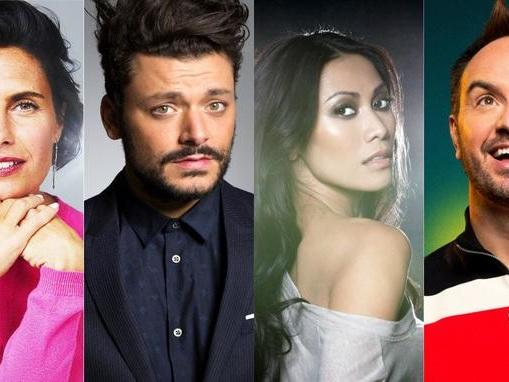 Mask Singer: Alessandra Sublet, Kev Adams, Anggun et Jarry jurés du nouveau divertissement de TF1
