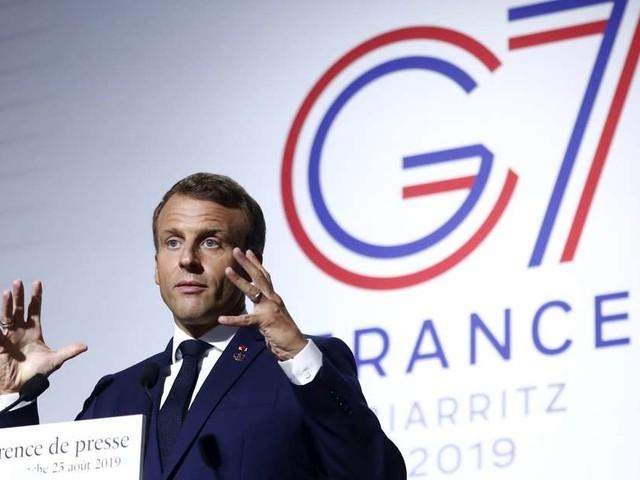 """G7 à Biarritz : Macron plaide pour la """"reforestation"""" de l'Amazonie"""