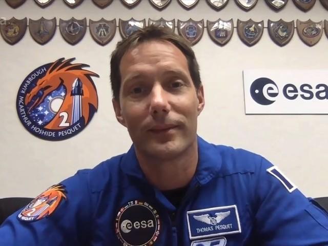 Space X : Thomas Pesquet prêt pour un deuxième séjour dans l'espace, décollage jeudi