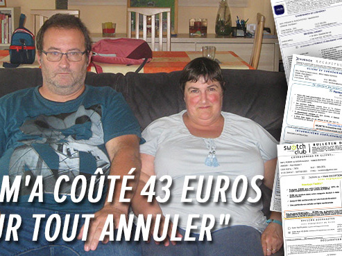 """Les étranges ventes forcées dans les magasins Switch continuent: """"Ma femme est revenue avec 4.272€ d'abonnements"""""""