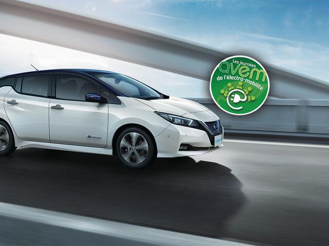 Journées AVEM de l'électro-mobilité: Nissan présente sa gamme 100% électrique