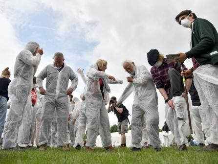 Allemagne: 5.000 militants climatiques prêts à bloquer une mine de charbon