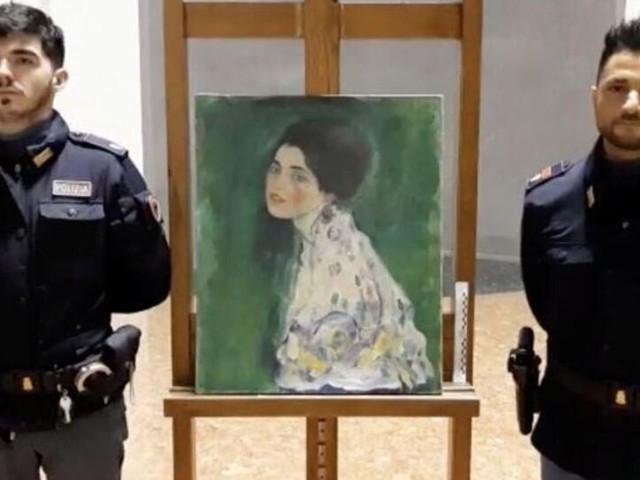 Un tableau de Klimt retrouvé dans un sac poubelle en Italie