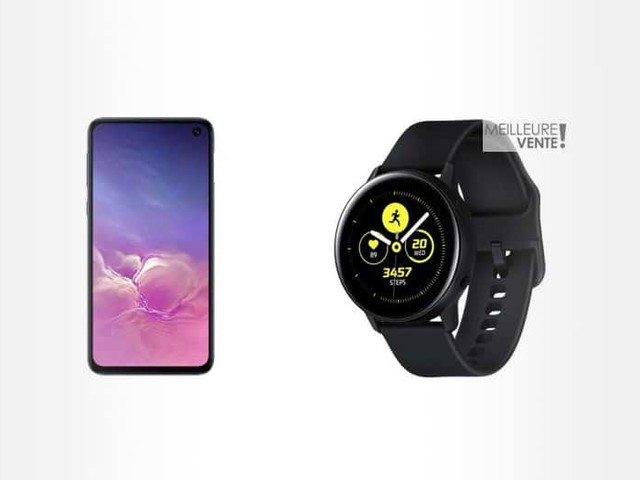 French Days Boulanger 2019 : Samsung Galaxy S10e + Galaxy Watch Active à 499 €