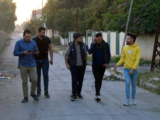 """Un """"Bella ciao"""" à l'irakienne pour soutenir la """"révolution"""""""