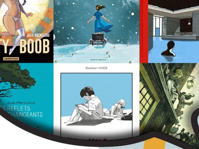 Les 6 finalistes du Prix de la BD Fnac 2018 dévoilés