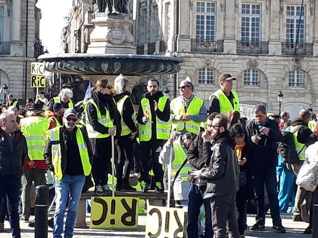 Acte 14 des Gilets jaunes : à Bordeaux, la mobilisation ne s'essouffle pas