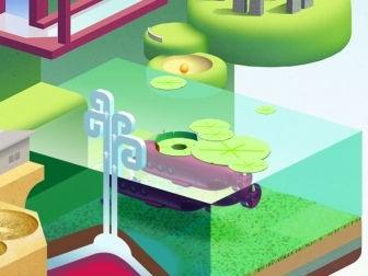 """Le superbe jeu de mini golf """"Wonderputt"""" désormais adapté à l'iPhone et au 64 bits : un régal venu de l'iPad"""