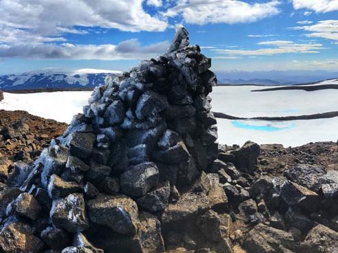 Réchauffement climatique: L'Islande construit un monument en l'honneur de son premier glacier disparu