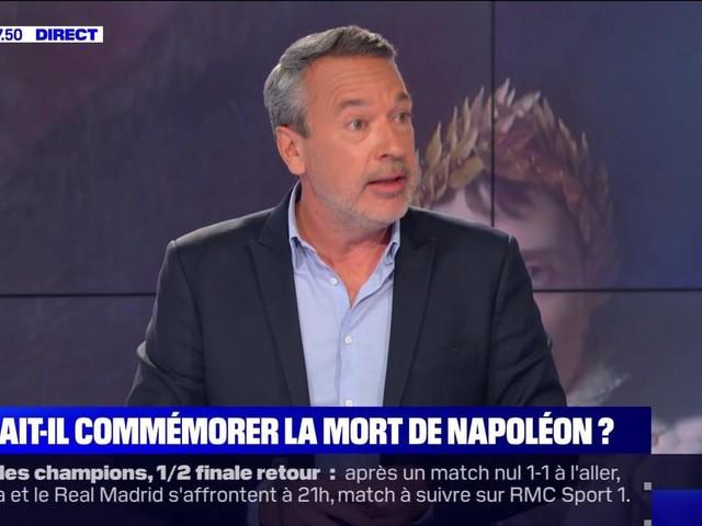 L'édito de Matthieu Croissandeau: Fallait-il commémorer la mort de Napoléon ? - 05/05