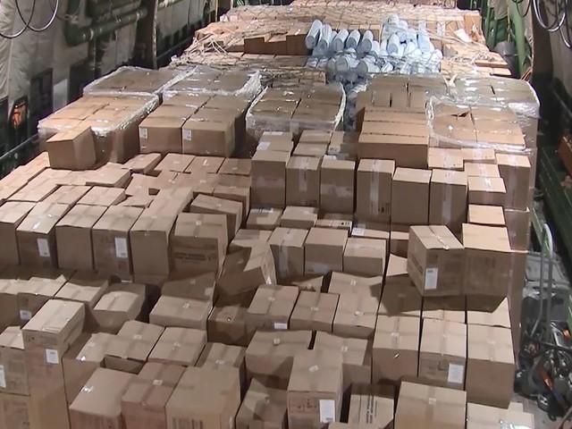 La Russie envoie un avion chargé d'aide humanitaire aux États-Unis