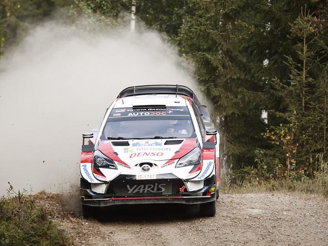 Rallye de Finlande: Tänak toujours en tête à deux spéciales du but