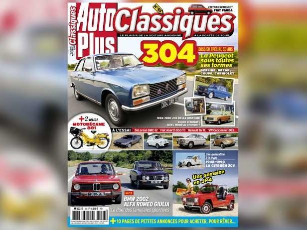 50 ans de Peugeot 304 dans Auto Plus Classiques