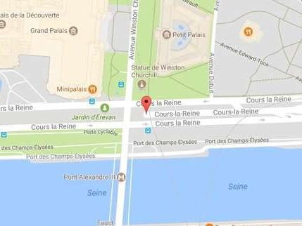 Paris: un bus de tourisme à étage percute l'arche d'un tunnel, au moins quatreblessés