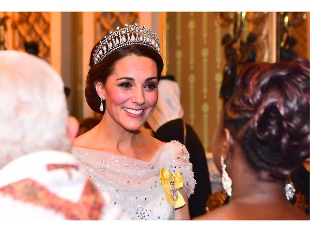 Kate Middleton : Seule pour recevoir Donald Trump à Buckingham ?