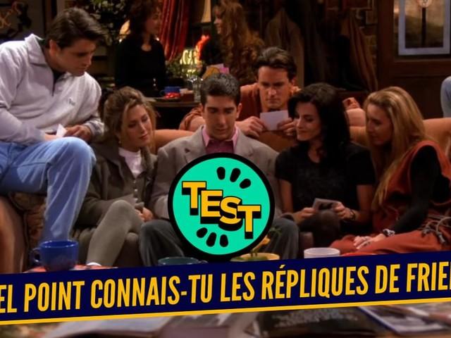 Quiz : connais-tu vraiment les citations de Friends ?