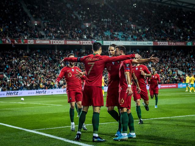 Euro-2020: le Portugal étrille la Lituanie, Ronaldo voit triple