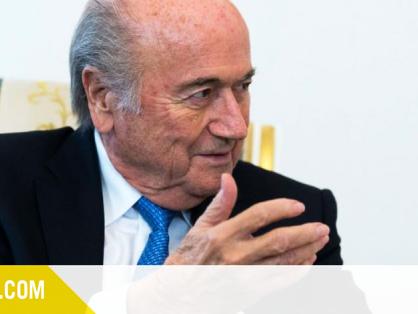 Sepp Blatter surpris par la garde à vue de Platini