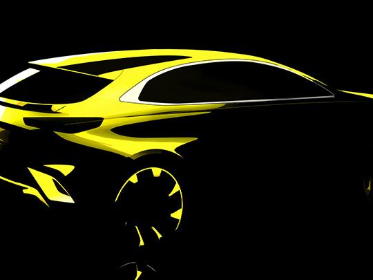 Kia va dévoiler en 2019 une version crossover de la Kia Ceed