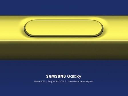 """Samsung va dévoiler le concurrent de l'iPhone X """"Plus"""" début août : Note 9, focus sur le stylet ?"""