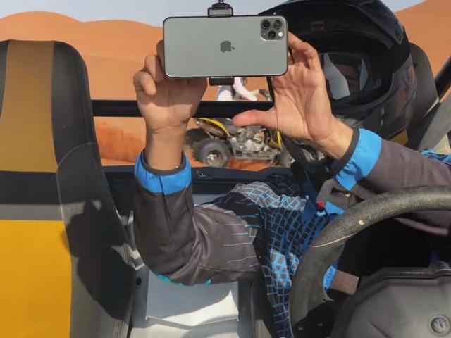 Apple partage une vidéo tournée à l'iPhone 11 Pro dans le désert d'Arabie