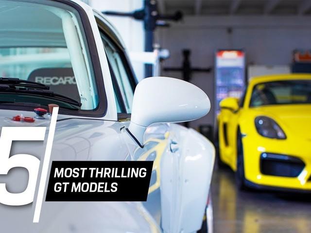 Vidéo : Porsche, le Top 5 des GT les plus excitantes de la marque