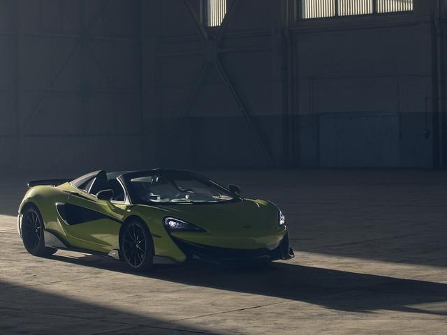 McLaren 600LT Spider : le grand air sur circuit