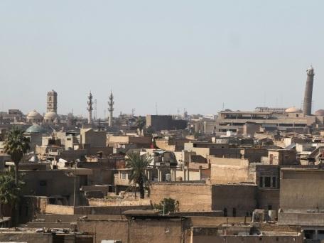 Irak: l'EI acculé détruit le minaret penché de Mossoul
