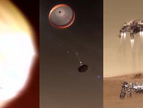 Le rover Perseverance a rendez-vous avec Mars à 21h55: voici à quoi va ressembler son amarsissage périlleux (vidéo)