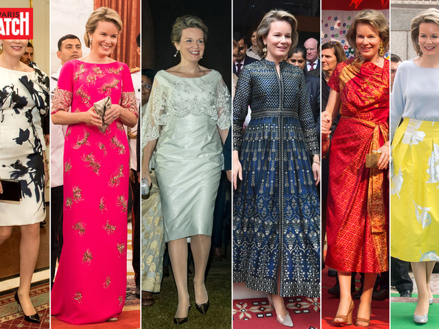 Royal Style - Mathilde, tous ses looks en Inde
