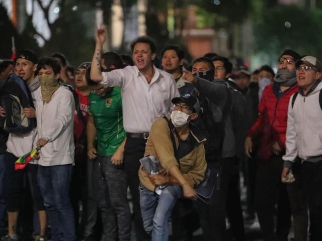 La Bolivie en ébullition face à la victoire probable de Morales: «Nous appelons à la grève jusqu'à nouvel ordre»