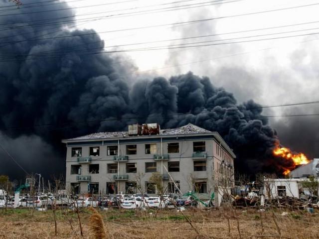 La Chine à nouveau frappée par une explosion chimique: 47 morts