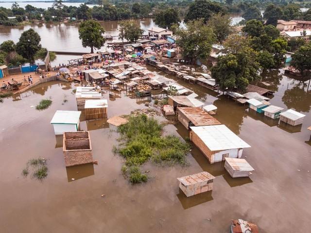Centrafrique: au moins 28.000 sans-abri après des inondations inédites