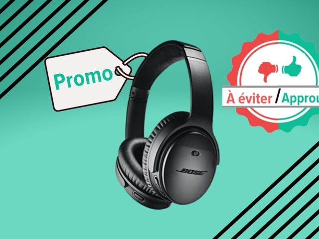 Avant le Black Friday, le casque Bluetooth Bose QC 35 II en promo à la Fnac, on valide?