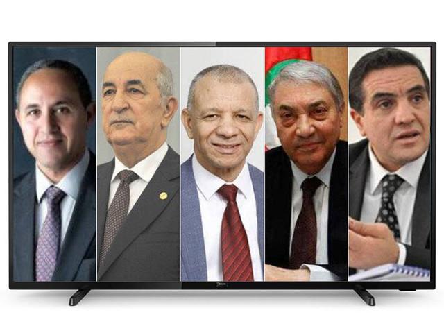Algerie : Le débat télévisé entre les cinq candidats à la présidentielle aura lieu vendredi prochain