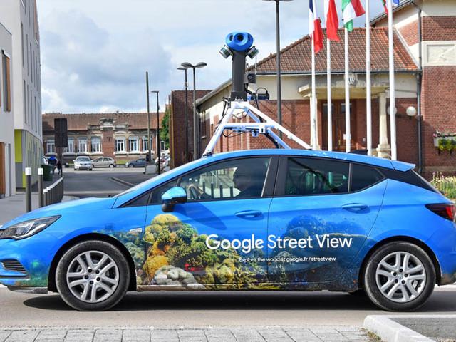 Google a photographié 16 millions de kilomètres de rue pour Street Maps