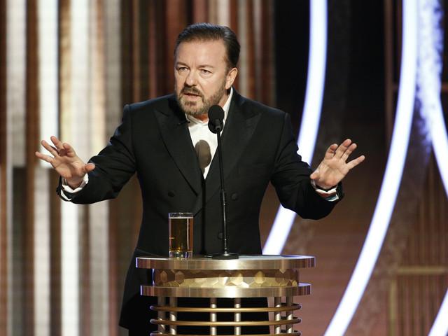 Aux Golden Globes, Ricky Gervais n'a épargné personne dans son discours d'ouverture