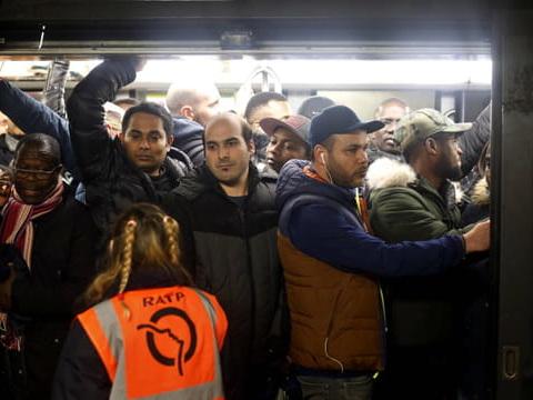 Grève RATP & SNCF: l'info trafic du jeudi 9janvier, ça va durer au moins jusqu'au 11