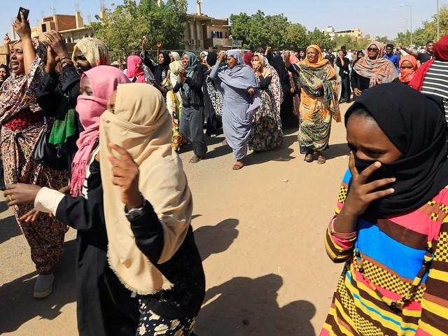 Soudan : les femmes dans la contestation contre le régime d'el-Béchir