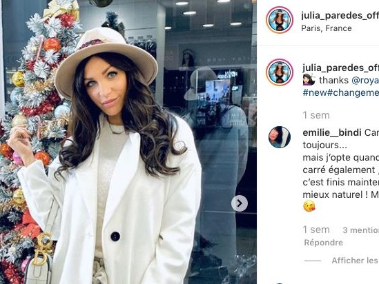 Julia Paredes (Mamans et célèbres) donne de ses nouvelles après sa fausse couche