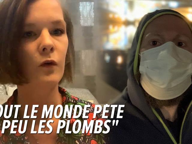 """Jessica, une Belge bloquée en Chine, raconte son quotidien: """"C'est l'enfer, c'est atroce, j'en peux plus"""""""