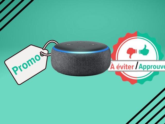 Pour la Black Friday Week, l'enceinte Amazon Echo Dot 3 à 22€, on valide ou pas?