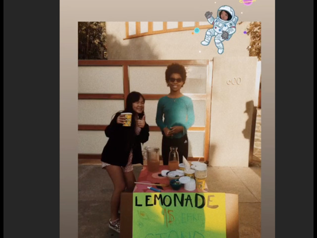 Joy Hallyday monte un petit business : Laeticia approuve !