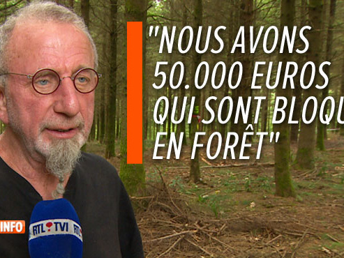 Comme Vincent, les exploitants forestiers ne peuvent pas accéder à leurs terres à cause de la peste porcine: ils poussent un coup de gueule
