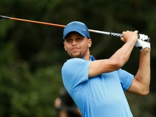 NBA: bons débuts de Stephen Curry en... golf!
