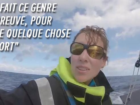 """Marie-Amelie Lenaerts, première Belge à avoir traversé l'Atlantique en solitaire: """"Joie, tristesse ou ras-le-bol, tout est démultiplié"""" (vidéo)"""