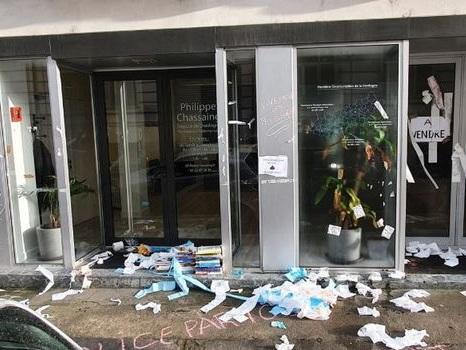 À Périgueux et à Paris, les permanences de deux députés vandalisées