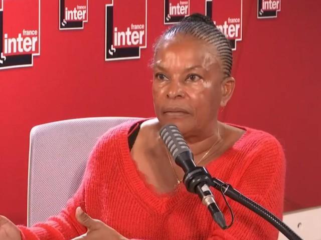 """VIDEO. """"Ensauvagement"""" : """"C'est un mot de l'imaginaire colonial"""", déplore Christiane Taubira"""