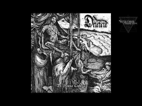 Délétère(Black Metal - Quebec) a sorti son second opusDe Horae Lepraechez Sepulchral...