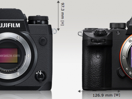 Le Duel - Duel d'hybrides experts – Fujifilm X-H1 vs Sony A7 III